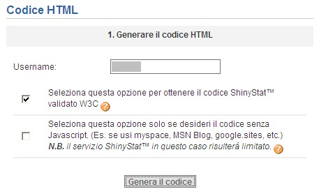 ShinyStat analisi utenza web