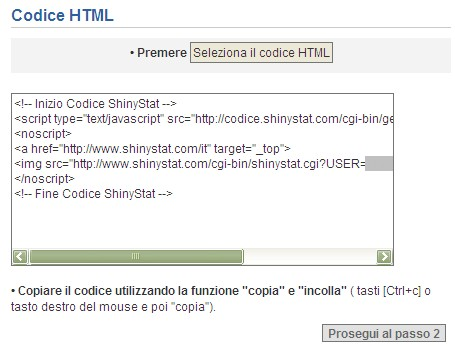 ShinyStat analisi utenza web