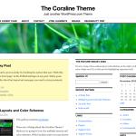 Coraline gestisce due colonne laterali