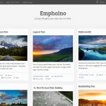 Il tema Emphaino per il tuo blog